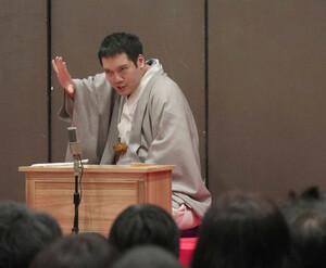 らくごまつりに出演した神田松之丞