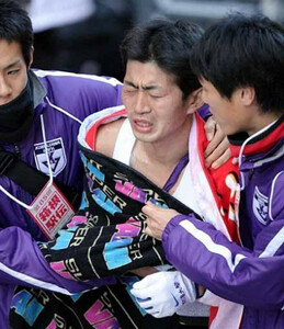 第85回箱根駅伝(1月3日・大手町)13位でゴールした駒大・太田。駒大は13年ぶりにシード権を失った