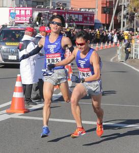 東海大7区・国行麗生(左)