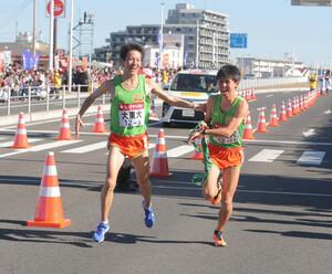 大東大3区・川澄克弥(左)