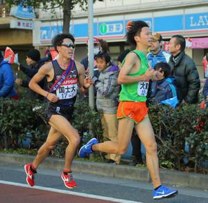 国士舘大1区・住吉秀昭(左)