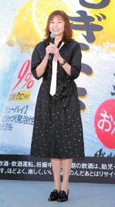 イベントに登場した山口智子