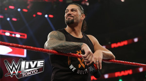 来日が決まったローマン・レインズ(C)2019 WWE, Inc. All Rights Reserved.