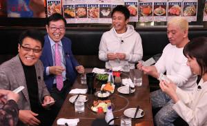 五木ひろし(左端)の紹介でゲスト出演、意外な素顔を明かした似鳥会長(左から2人目)(C)フジテレビ