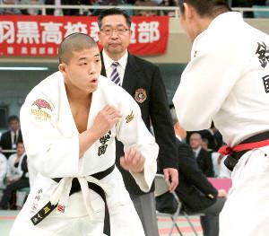 延岡学園の先鋒として出場した小川剛生