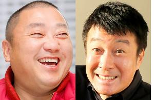 「極楽とんぼ」の加藤浩次(右)と山本圭壱