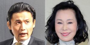 藤田紀子(右)と花田光司氏