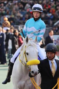 スノードラゴンで挑んだ藤田菜七子騎手だったが、結果は振るわず17着