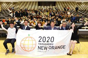フォーラムに参加した(左から)長谷川さん、松橋准教授、篠田さん、京谷さん、小河原記者、中山さん