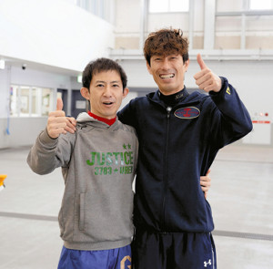瓜生正義(写真左)と原田幸哉の仲良し76期コンビ。両者合わせてSGは12勝、GIは30勝だ