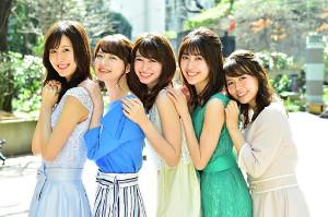 「ビジネス・クリック」新キャスターの(左から)阿部菜渚美、中城あすか、菜波、榊原美紅、井口綾子(C)TBS