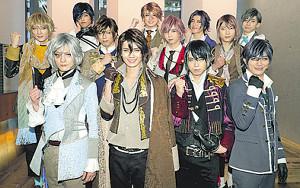 意気込みを語った「MADE」の(前列左から)冨岡健翔、稲葉光、秋山大河、福士申樹