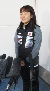 卓球世界選手権に出発した伊藤美誠
