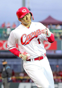 広島の4番打者を務める鈴木誠也