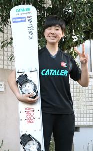 温暖な地の静岡で冬季五輪の金メダルを狙う三木つばき