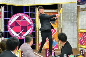 新井貴浩氏がMBSテレビ「戦え!スポーツ内閣」に出演