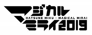 「マジカルミライ2019」のロゴ