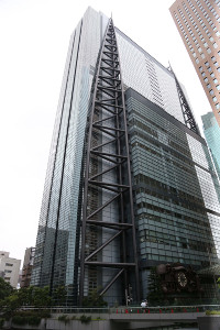 東京・汐留の日本テレビ本社