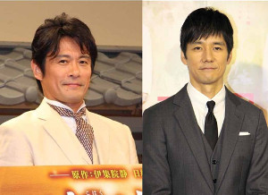 テレビ東京系ドラマ「きのう何食べた?」W主演の内野聖陽(左)と西島秀俊