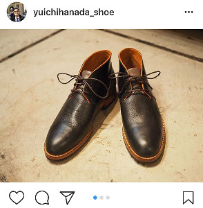 優一 靴 花田