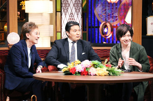 中居(左)とトークする花田光司氏(中)と前田裕二氏