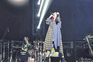 横浜アリーナ公演を行ったLiSA