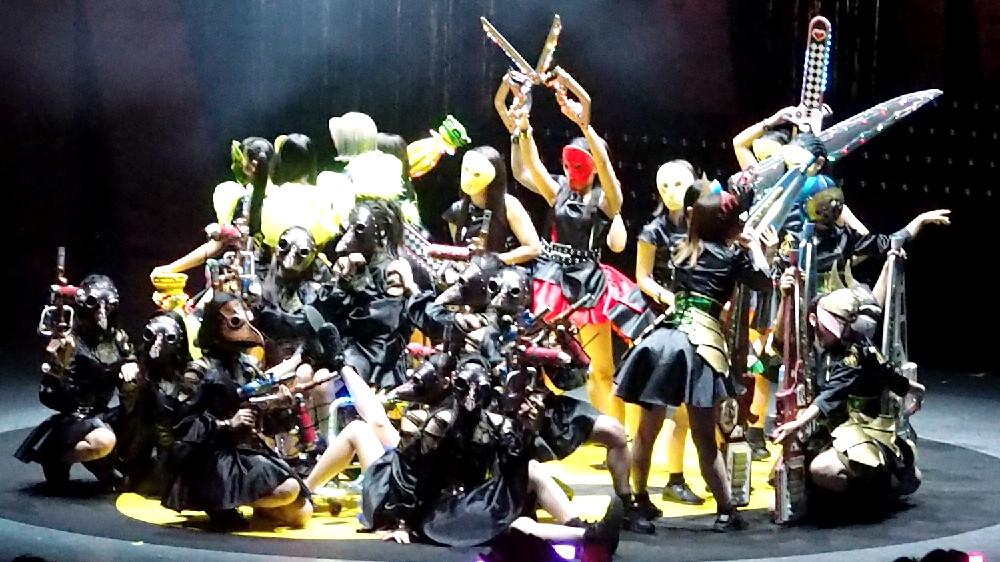 仮面女子が1日に3rdワンマンライブを開催した