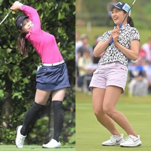 熊谷かほ(左)、三浦桃香ら女子プロのウェアへ込められた思いとは