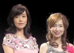 早見優(左)と森口博子
