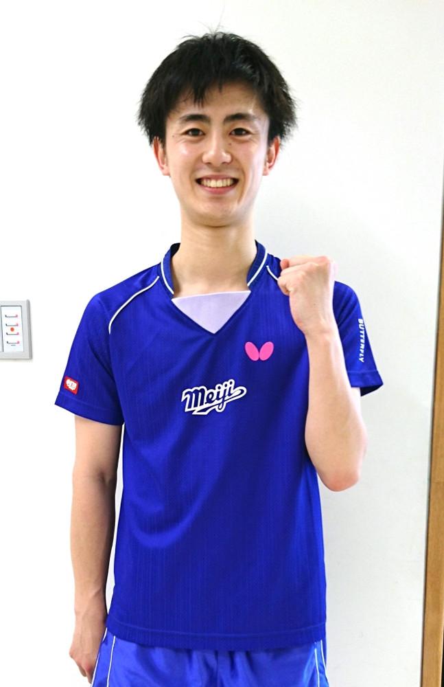 第7試合で逆転勝ちし、チームの6連勝を決めた明大・菅沼湧輝