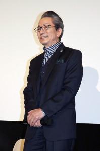 映画「轢き逃げ―最高の最悪な日―」のトークイベントに出席した水谷豊