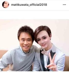 インスタグラムより@mattkuwata_official2018