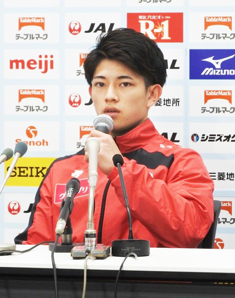 NHK杯に向けて意気込む谷川翔