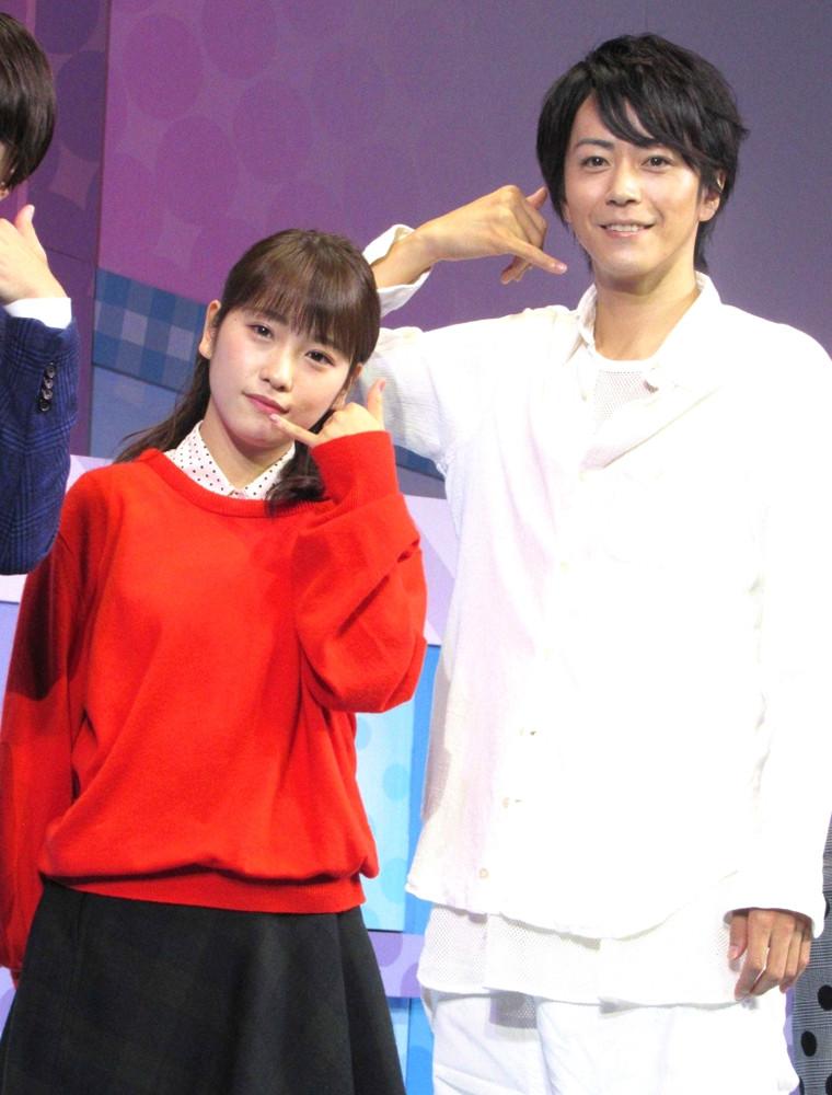 昨年10月の舞台で共演した際の川栄李奈と廣瀬智紀