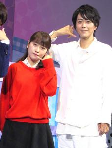 舞台「カレフォン」で共演し、恋に発展した川栄李奈と廣瀬智紀