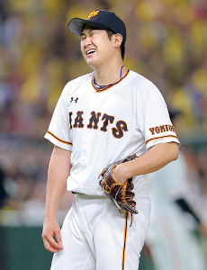腰の違和感で出場選手登録を抹消された菅野