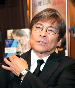 木村進さんの告別式を終え、思い出を語る内場勝則