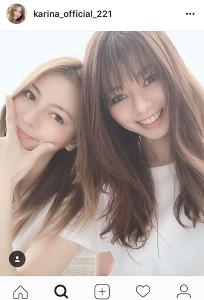 インスタグラムより@karina_official_221