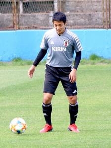 U―20W杯に向けて気合が入る日本代表の斉藤未月