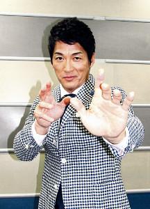 空手の国際大会に出場しメダルを獲得した長嶋一茂