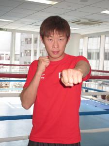 7月12日に大阪で、WBOアジアパシフィック・スーパーフェザー級王座に挑戦することが決まった清水聡