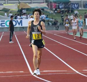 1万メートル競歩で連覇を達成した東洋大・池田