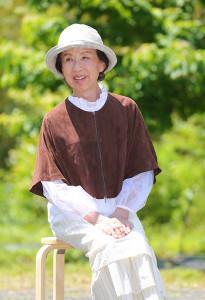 日本生態系協会のイベントに出席した八千草薫(カメラ・竜田 卓)