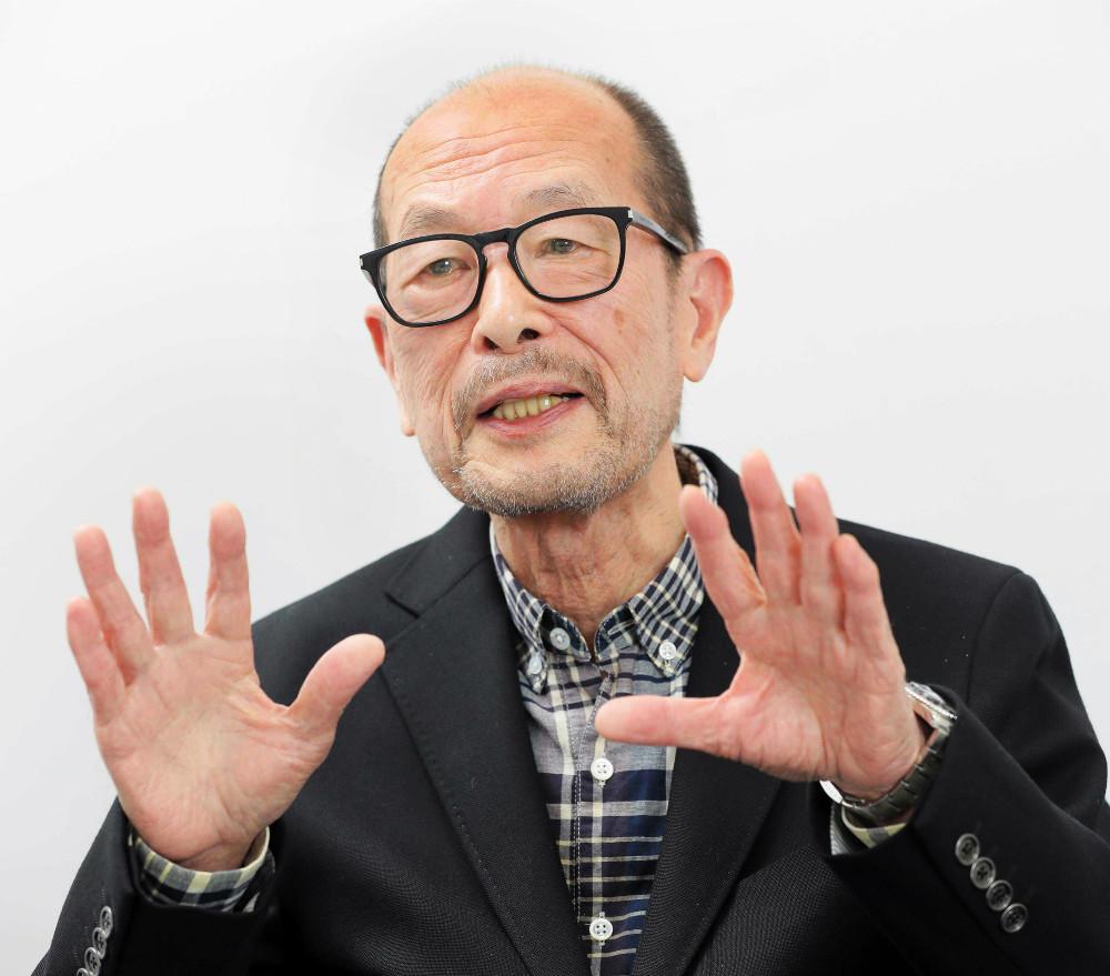 降旗康男さん(2017年撮影)
