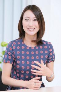 4月にテレビ朝日を退社。3日からTBS系「NEWS23」のメインキャスターに就任する小川彩佳アナウンサー