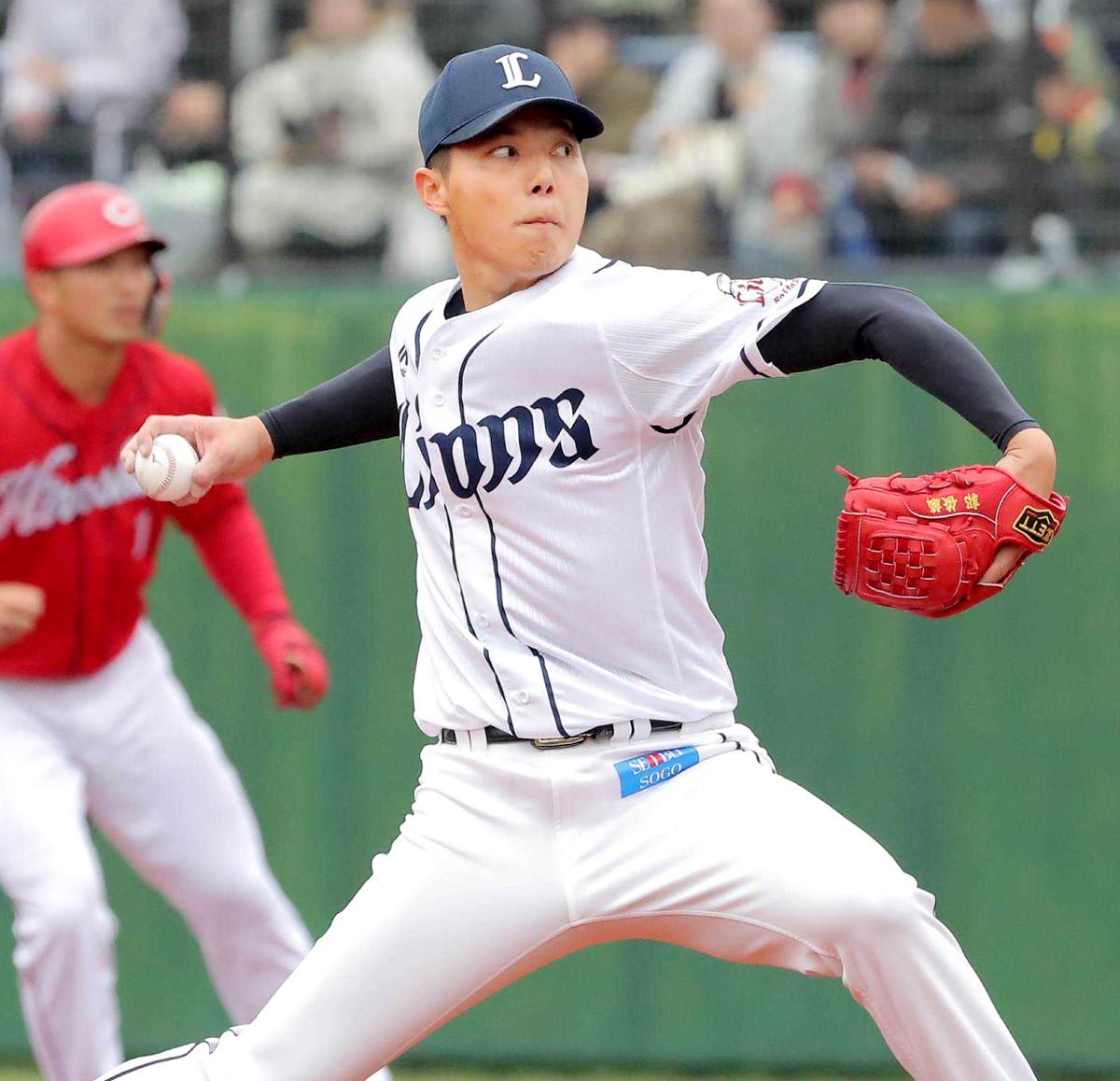 【西武】郭俊麟、6日広島戦で今季初登板初先発