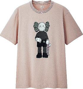 7日から発売されるユニクロとKAWSがコラボしたTシャツ(C)KAWS