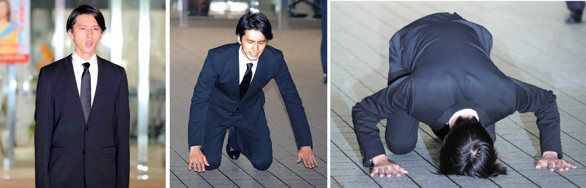 【大麻】元KAT-TUN・田口淳之介被告の土下座にネットは賛否両論「コント?」「かえって異様」