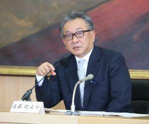 7日の新社長発表会見で「視聴者の皆さんに愛されるテレビ局になりたい」と語ったフジテレビの遠藤龍之介新社長