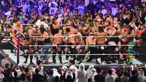 中邑は? 戸澤は? WWE史上最大50人バトルロイヤル(C)2019 WWE, Inc. All Rights Reserved.